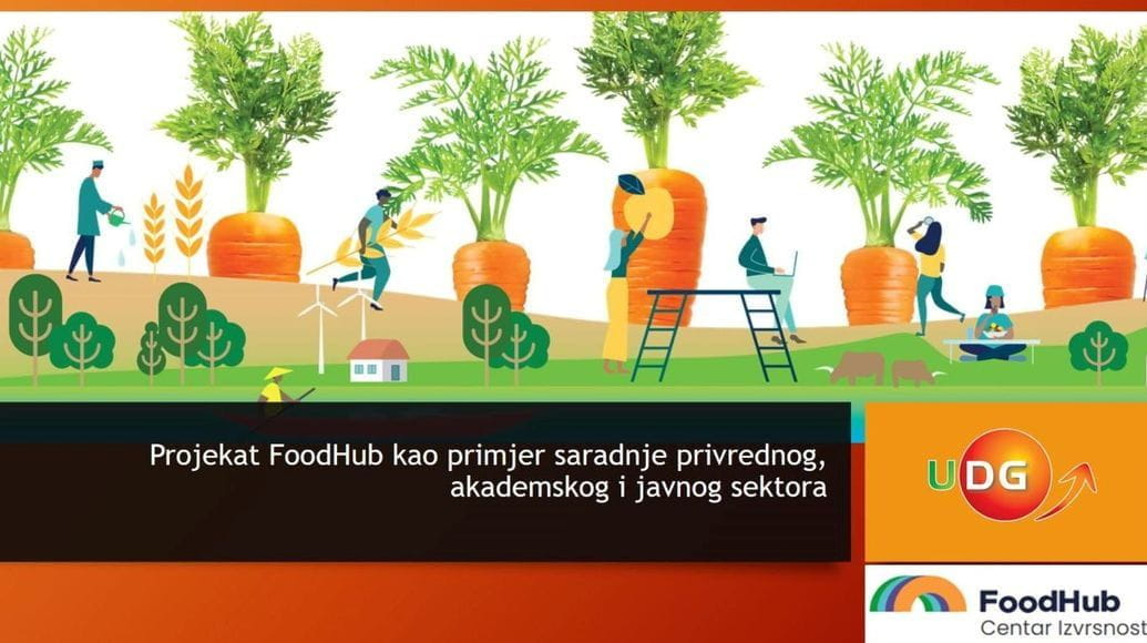 FoodHub presented as a good example of cooperation between the economy, academia and the public sector