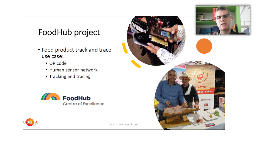 FoodHub researcher at IoT Solutions World Congress - Digital Summit on May 11-12