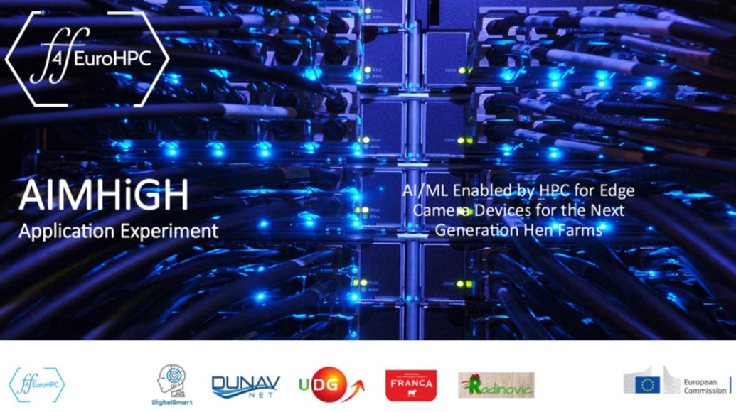 Novi  projekat - H2020 AIMHiGH