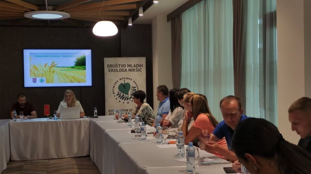 """Prof. Dr. Aleksandra Martinović held a lecture on """"Agriculture in Montenegro - situation and prospects"""""""