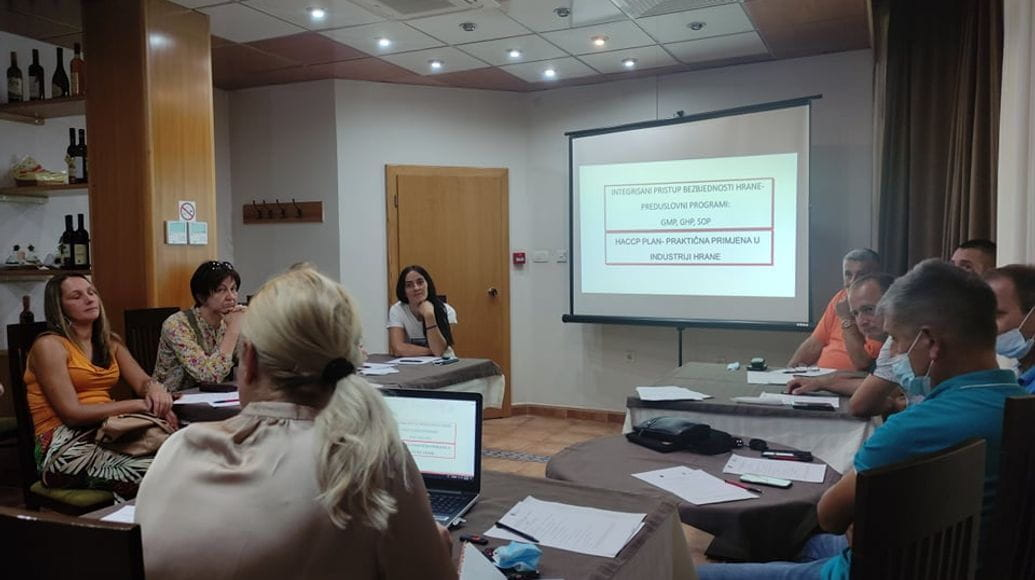 """Prof. Dr. Aleksandra Martinović held a lecture on """"Product quality labels to numerous benefits"""""""